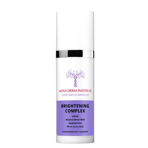 Brightening Complex is to soothe the skin and help with redness.Safe for all skin types - Nova Derm Institute